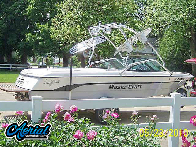 MasterCraft ProStar 205 Sammy Duvall Edition Wakeboard Tower, speakers, racks, bimini