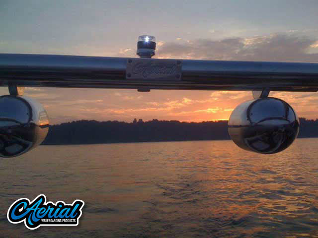 Airborne Tower Wakeboard Installed on MasterCraft ProStar 205 Sammy Duvall Edition Boat
