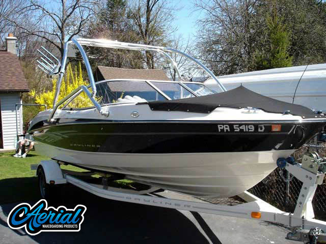 2008 Bayliner 205 Wakeboard Tower, speakers, racks, bimini