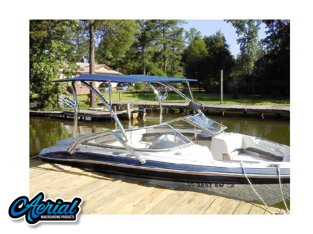 Wakeboard tower for 2005 Four Winns Horizon 200 with Airborne Tower with Eclipse Bimini