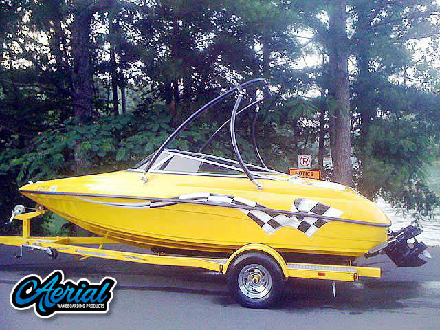 Wakeboard tower for 2005 Crownline 180BR with Ascent Tower