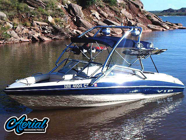 VIP Vision 1999 Wakeboard Tower, speakers, racks, bimini