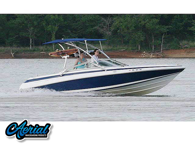 Wakeboard tower for Cobalt / 220 / 1995 with Airborne Tower with Eclipse Bimini