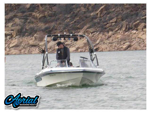 1980 Baja 19ss Wakeboard Tower, speakers, racks, bimini