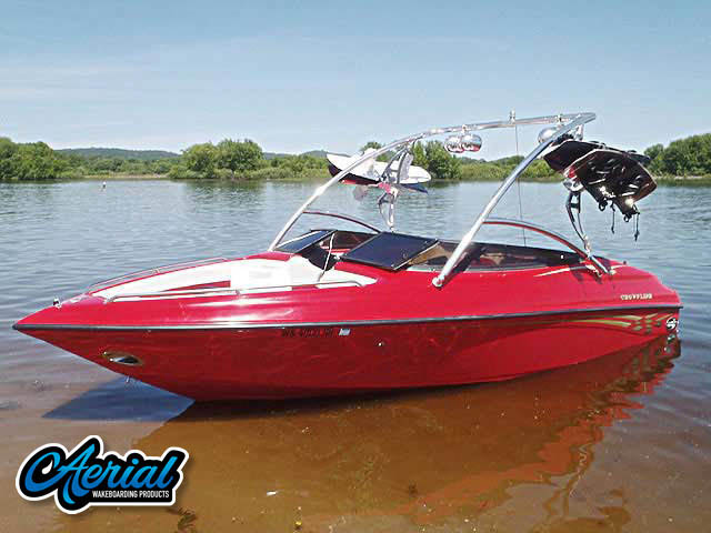 Wakeboard tower for 2000 Crownline 202 BR with Assault Tower