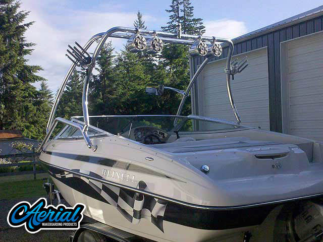 Wakeboard Towers Installed on Reinell 200LSE Boats