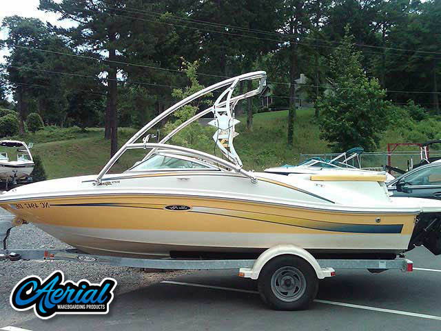 2006 Searay 185 Sport Wakeboard Tower, speakers, racks, bimini