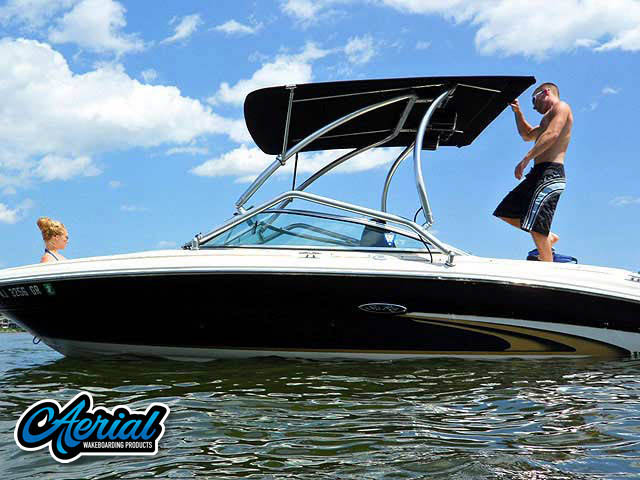 2002 SeaRay 190 Signature Wakeboard Tower, speakers, racks, bimini