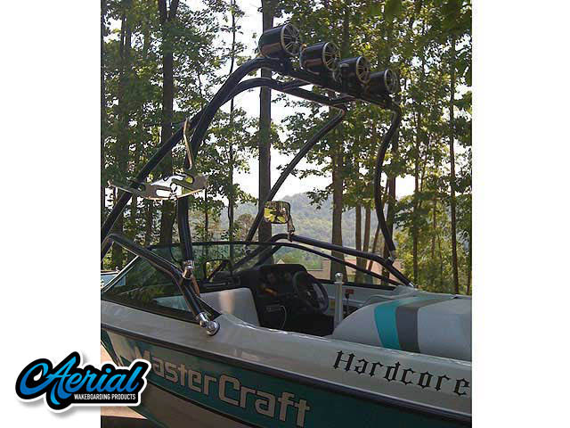 MasterCraft Wakeboard Tower, speakers, racks, bimini