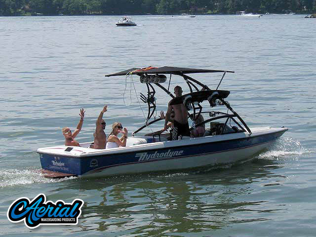 1993 Hydrodyne Comp Wakeboard Tower, speakers, racks, bimini