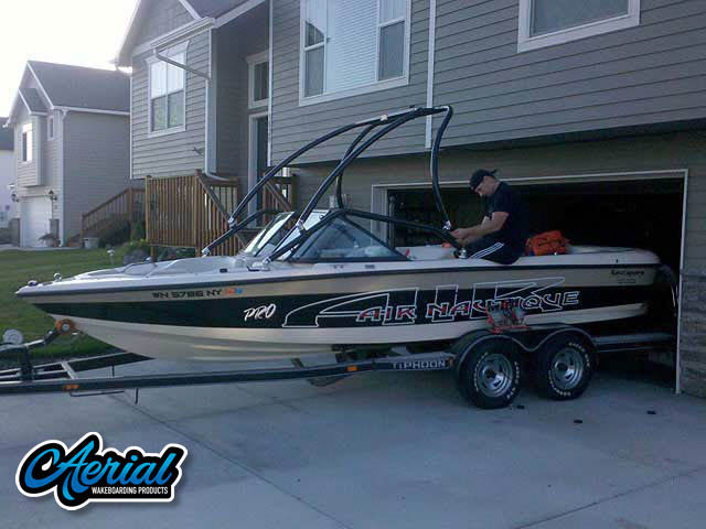 1999 Pro Air Nautique Wakeboard Tower, speakers, racks, bimini