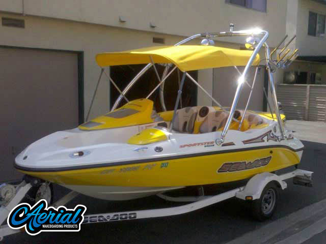2002 Sea Doo Sportster Wakeboard Tower, speakers, racks, bimini