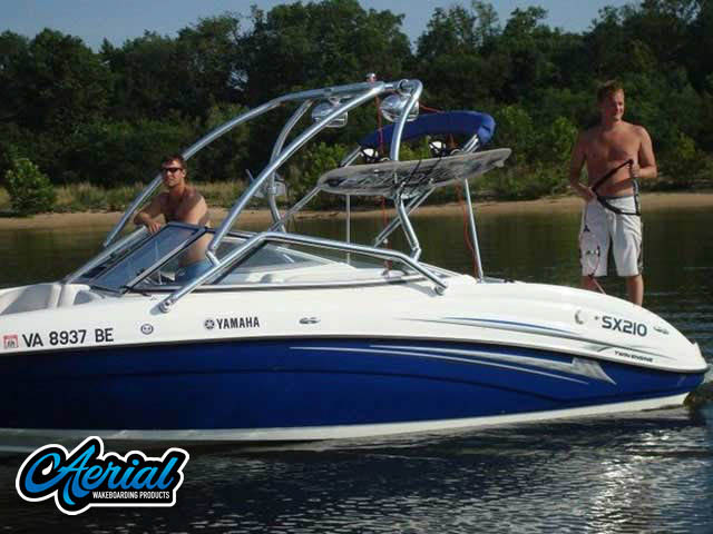 Yamaha Wakeboard Tower, speakers, racks, bimini