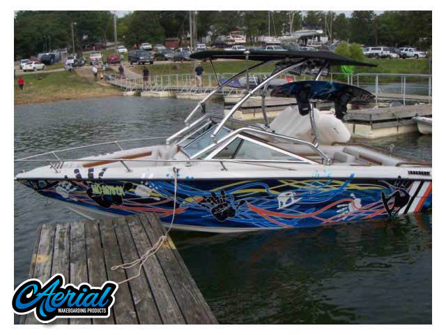 Celebrity 190 Bowrider Wakeboard Tower, speakers, racks, bimini