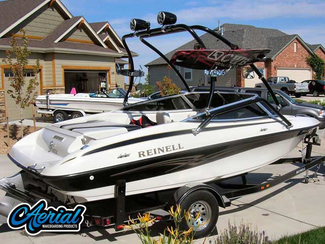 Wakeboard Towers Installed on 2005 Reinell 191 Boats