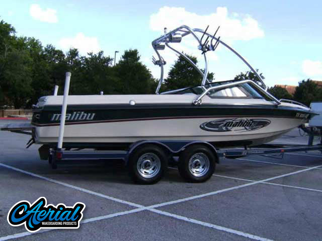 1998 Malibu Sunsetter VLX Wakeboard Tower, speakers, racks, bimini
