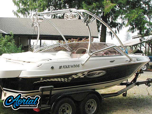 Wakeboard tower for 2004 Four Winns Horizon 200 SS Edition with Airborne Tower