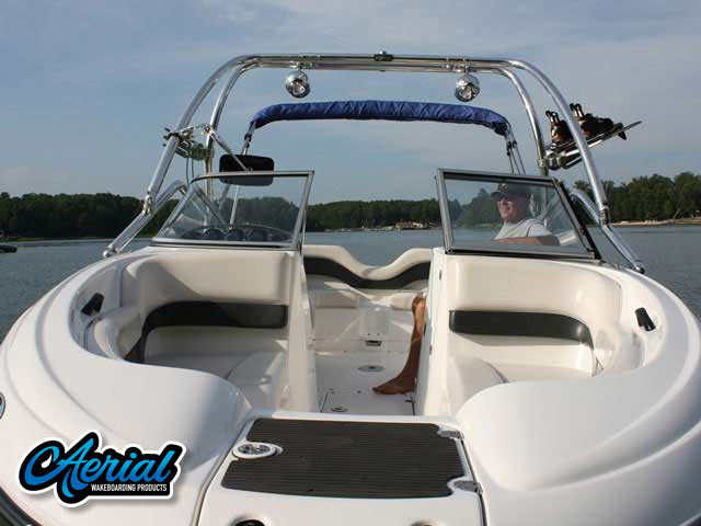 2006 Yamaha SX210 Wakeboard Tower, speakers, racks, bimini