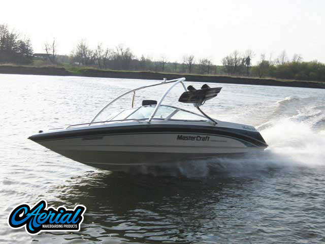 Aerial Ascent Tower on a 1997 Mastercraft Maristar 225V boat