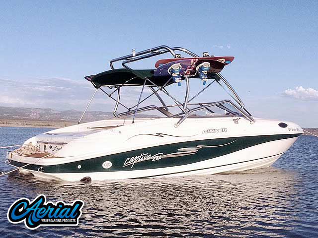Wakeboard tower for 1998 Rinker Captiva 232 Cuddy  with Airborne Tower