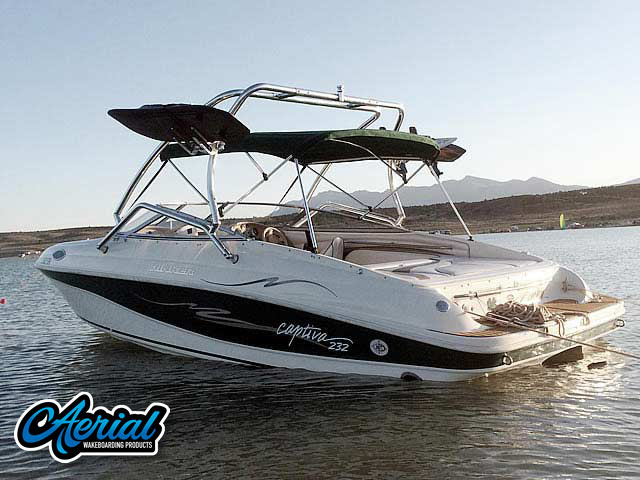 1998 Rinker Captiva 232 Cuddy  Wakeboard Tower, speakers, racks, bimini