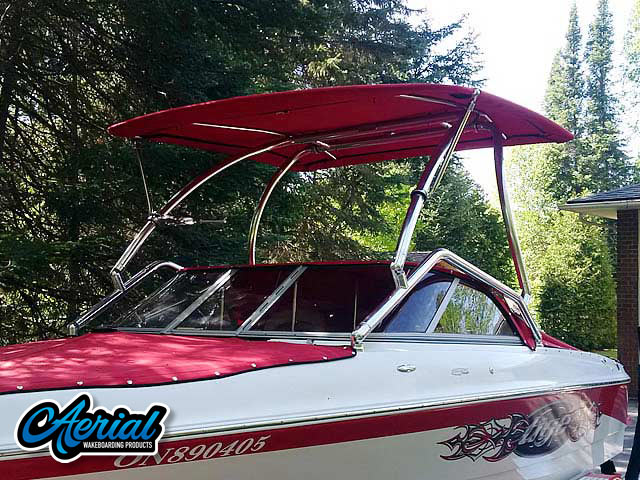 2007 Tige 20i wakeboard tower, speakers, racks, bimini & lights