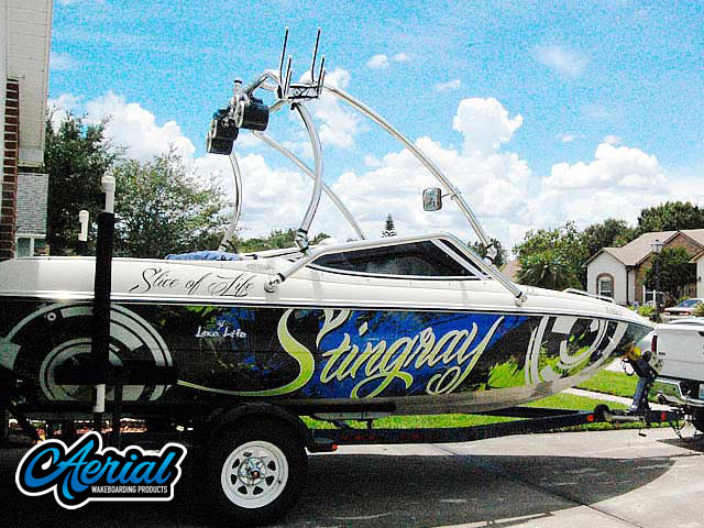 Wakeboard tower for 1999 Stingray 190lx with Airborne Tower