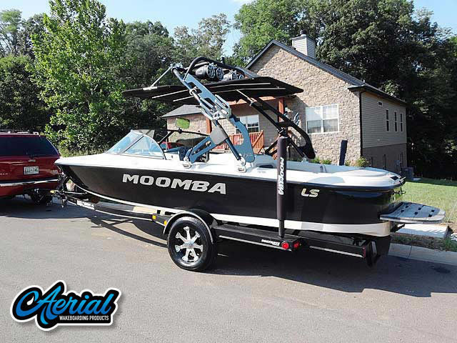 Wakeboard tower for 2001 Moomba Outback LS with FreeRide Tower with Bimini
