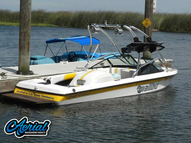 2001 Malibu Sporster Lx Wakeboard Tower, speakers, racks, bimini