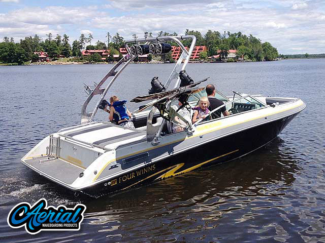 Wakeboard tower for 1988 Four Winns Horizon 200 with FreeRide Tower