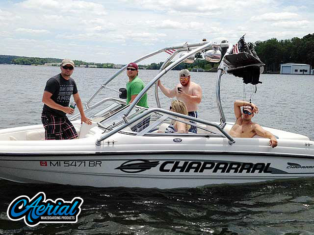 Wakeboard tower for 2001 Chaparral 180 SSE with Airborne Tower