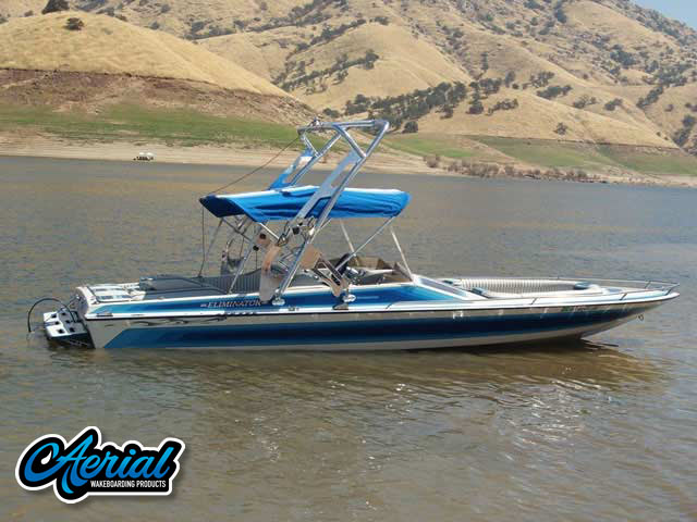 1987 ELIMINATOR Wakeboard Tower, speakers, racks, bimini
