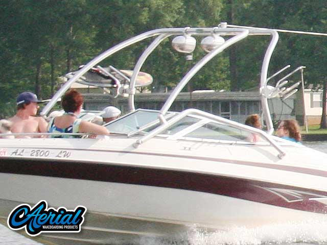 2006, Blue Water 2150 wakeboard tower, speakers, racks, bimini & lights