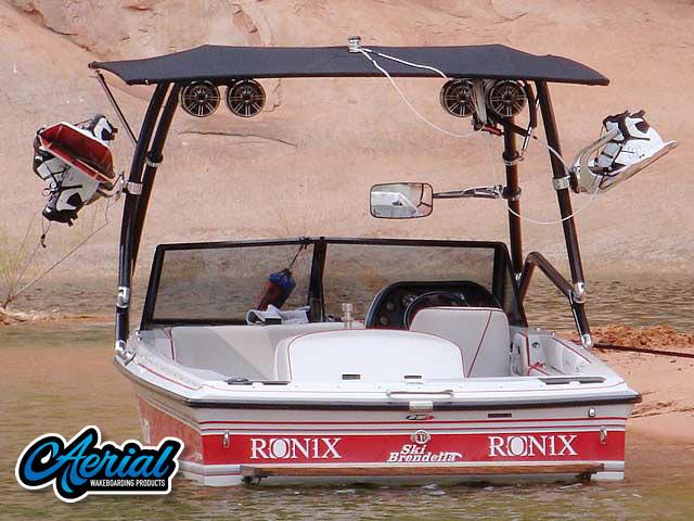 1992 Brendella Pro Comp Wakeboard Tower, speakers, racks, bimini