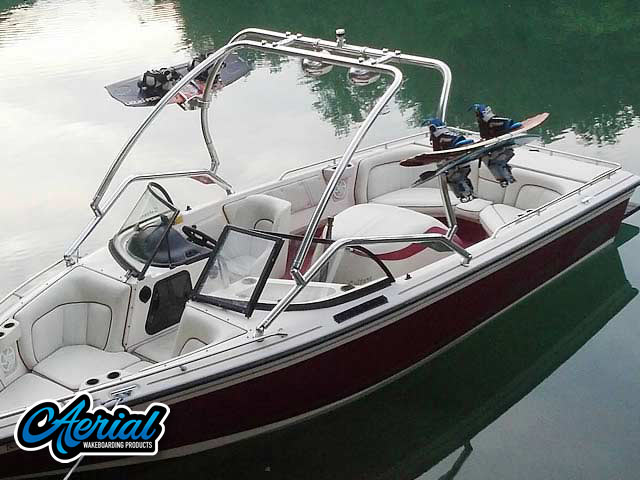 1998 Supra Saltare  wakeboard tower, speakers, racks, bimini & lights