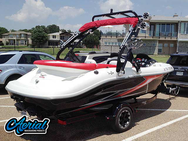 1997, Seadoo Challenger 1800 Wakeboard Tower, speakers, racks, bimini