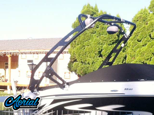 2010 Four Winns H180ss Wakeboard Tower, speakers, racks, bimini