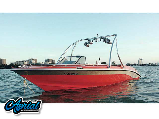 "Aerial Ascent Tower on a 1989 Mastercraft Tristar 22""   boat"