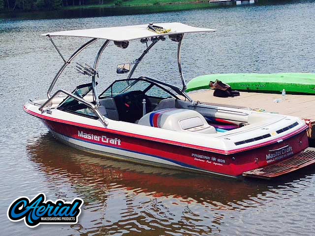 Wakeboard tower for 1994 MasterCraft Prostar 205 with Airborne Tower with Eclipse Bimini
