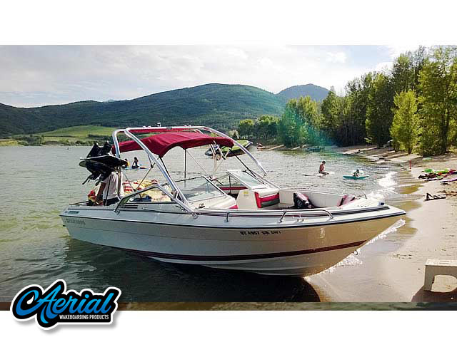 Wakeboard tower for 1990 Four Winns 22 ft with Airborne Tower