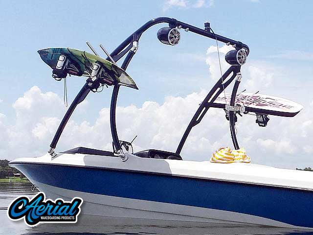 1991 Mastercraft Prostar 190 Wakeboard Tower, speakers, racks, bimini
