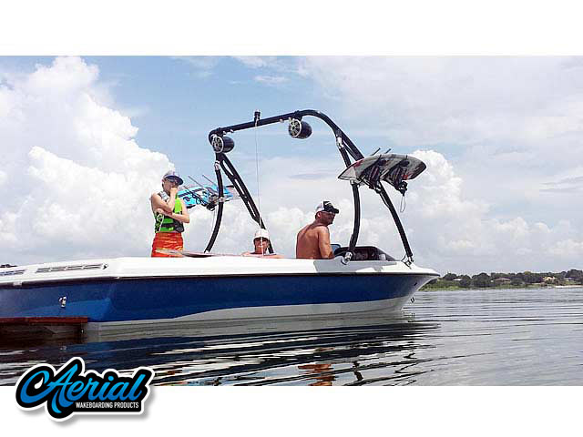 Ascent Tower Wakeboard Installed on 1991 Mastercraft Prostar 190 Boat