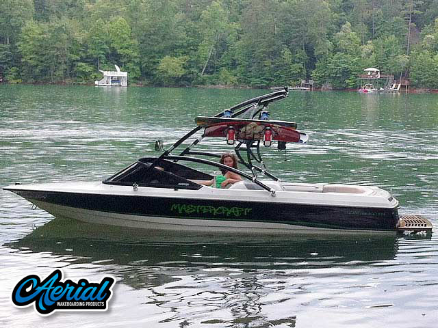 Assault Tower Wakeboard Installed on 1991 MasterCraft ProStar 190 Boat