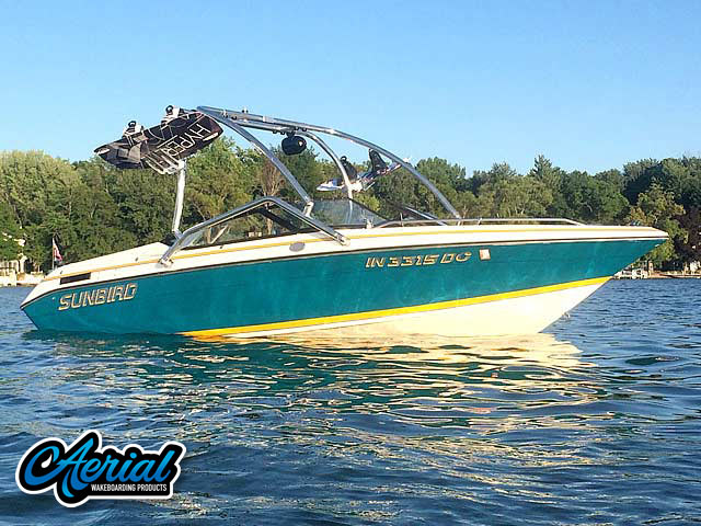 Wakeboard tower for 1992 Sunbird 205 Corsair with Airborne Tower