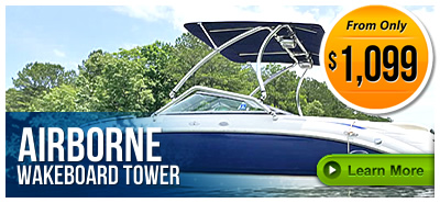 Airborne Wakeboard Towers on LABOR DAY SALE