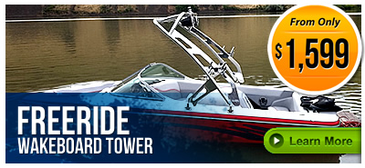 Freeride Wakeboard Towers on LABOR DAY SALE