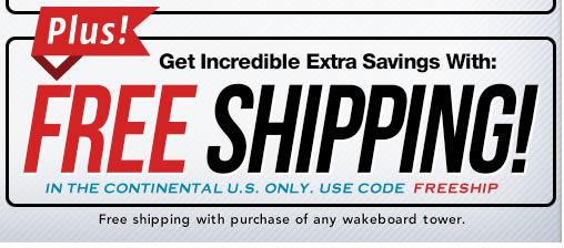 Wakeboard tower speaker sale