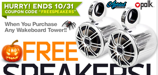 Lower prices on wakeboard towers