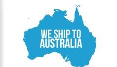 We ship to Australia