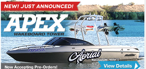 New Apex Wakeboard Tower for 2015